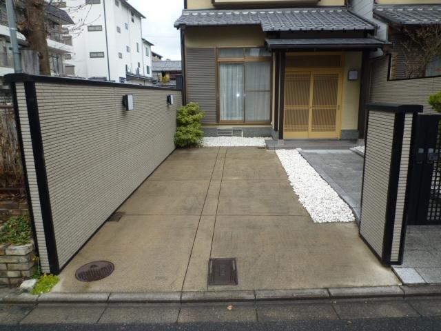 【予約制】軒先パーキング 定法寺町 第1駐車場 image