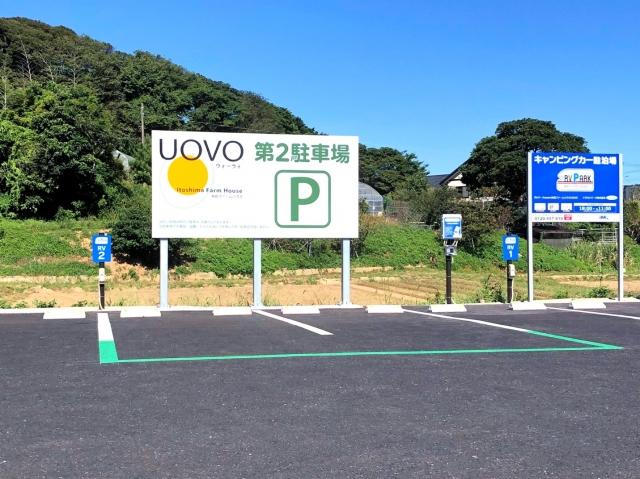 【予約制】軒先パーキング 【RV2】RVパークsmart 糸島ファームハウスUOVO image