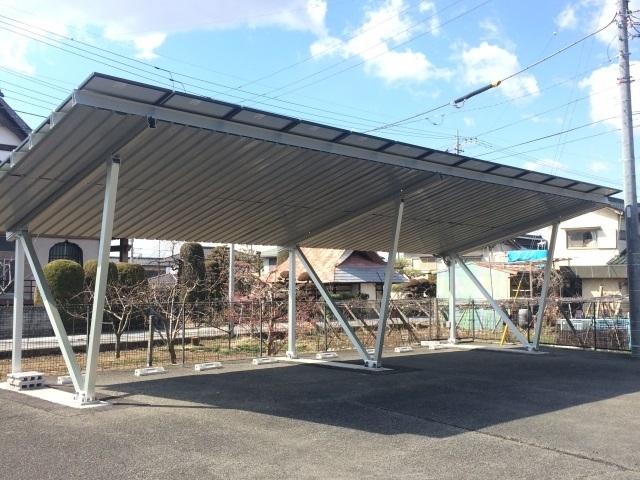 エクセル838駐車場(屋根付)