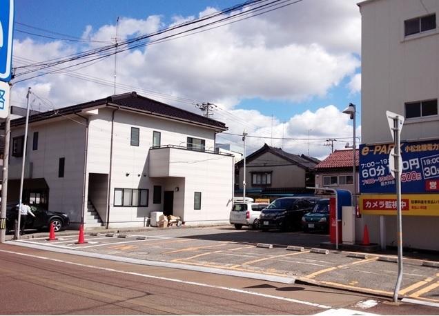 e-PARK小松北陸電力前駐車場
