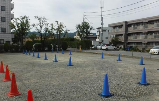 柄木田製粉駐車場