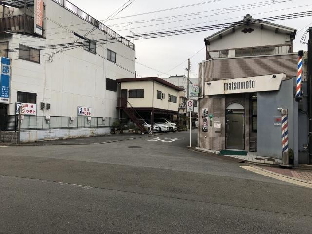 【京都】理容マツモト駐車場