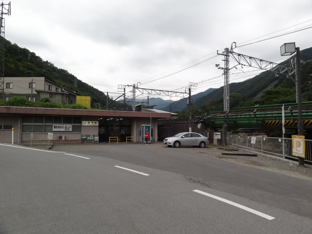 笹子駅駐車場
