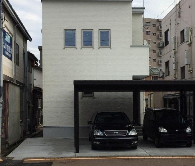 【長岡花火】西千手3丁目駐車場