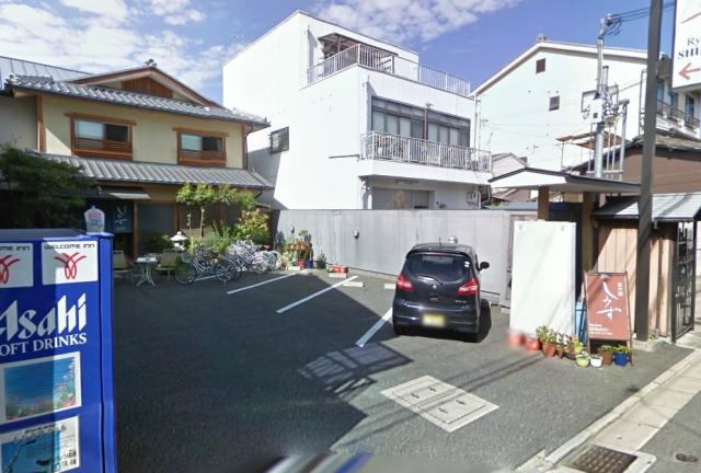 京の宿しみず 駐車場